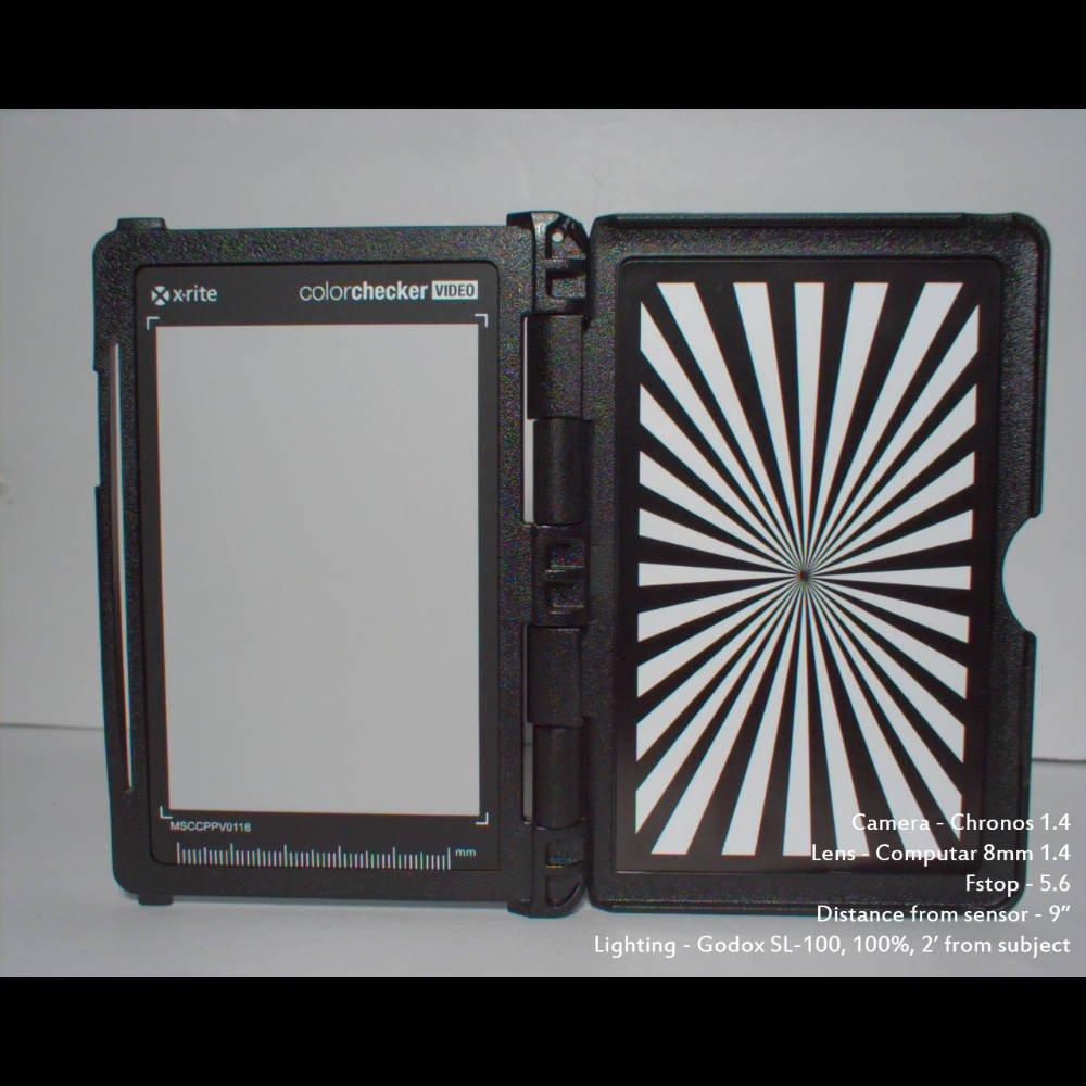 Computar 8mm f/1.4 prime lens