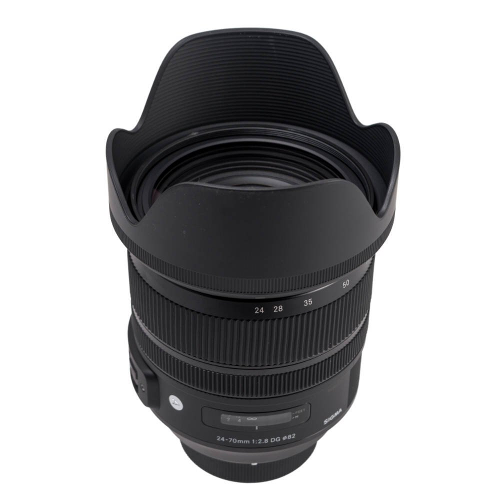 Sigma 24-70mm f/2.8 Nikon F zoom lens