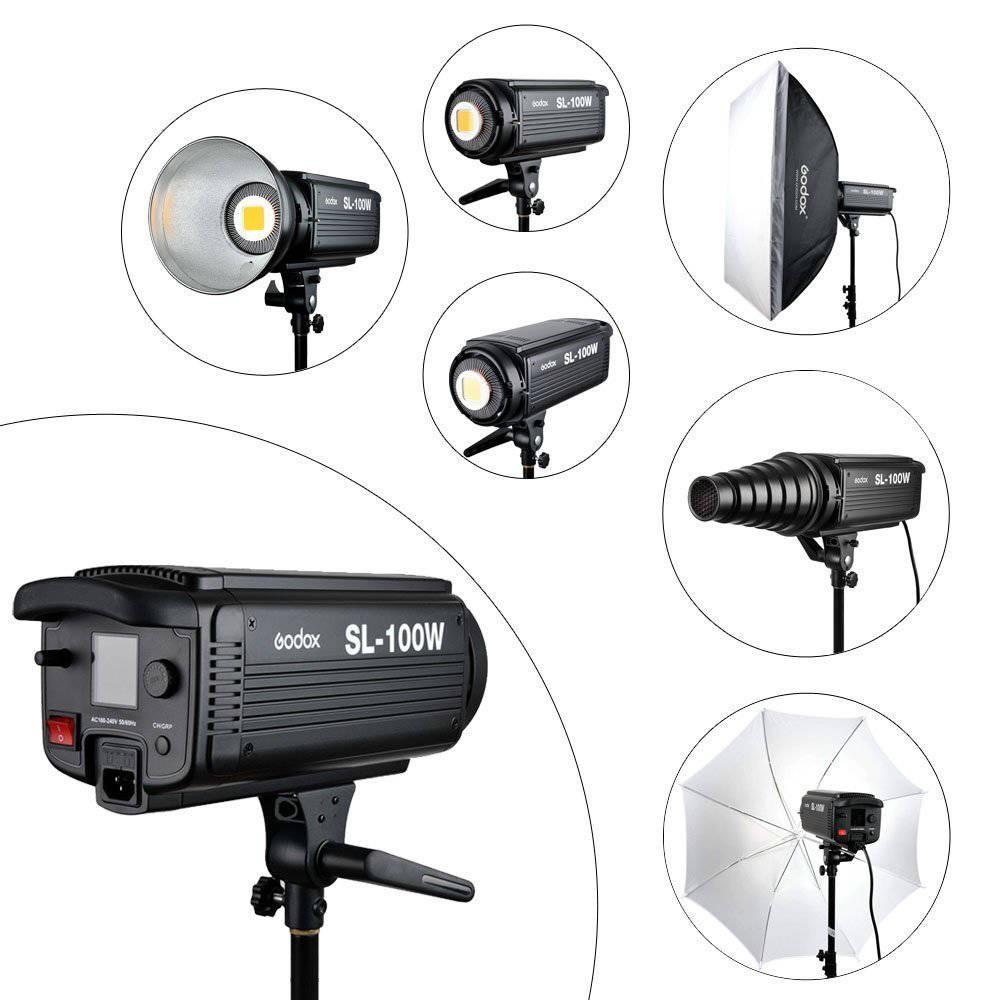 High speed camera lights